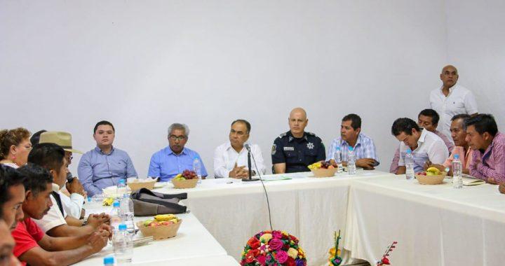 SE REÚNE EL GOBERNADOR HÉCTOR ASTUDILLO CON PROMOTORES DE LA CREACIÓN DE 4 NUEVOS MUNICIPIOS