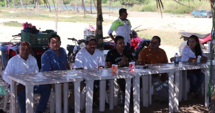 Proyectan apoyos federales para campamento tortugero de la barra de San Luis