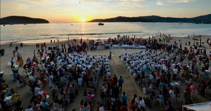 Ayuntamiento realizó boda colectiva gratuita en beneficio de más de 100 parejas