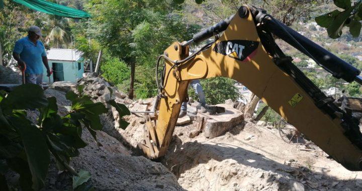 CAPAZ rehabilita drenaje en colonia Quebrachal