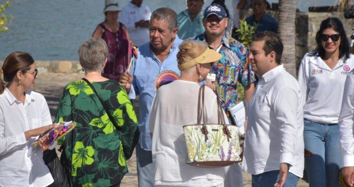 Presidente Jorge Sanchez recibe cuarto crucero de la temporada 2019-2020