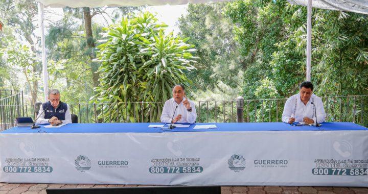 EN GUERRERO SE TOMAN MEDIDAS DE SALUD PÚBLICA PARA AFRONTAR LA PANDEMIA DEL CORONAVIRUS: ASTUDILLO FLORES