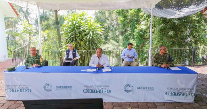 PARA ENFRENTAR LA FASE 2 POR COVID-19, GUERRERO SEGUIRÁ ALINEADO A LA ESTRATEGIA FEDERAL: HÉCTOR ASTUDILLO
