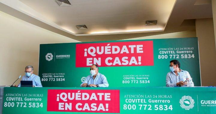 A MES Y MEDIO DEL PRIMER CASO POSITIVO DE CORONAVIRUS, EN GUERRERO HAY 32 PERSONAS FALLECIDAS: SALUD