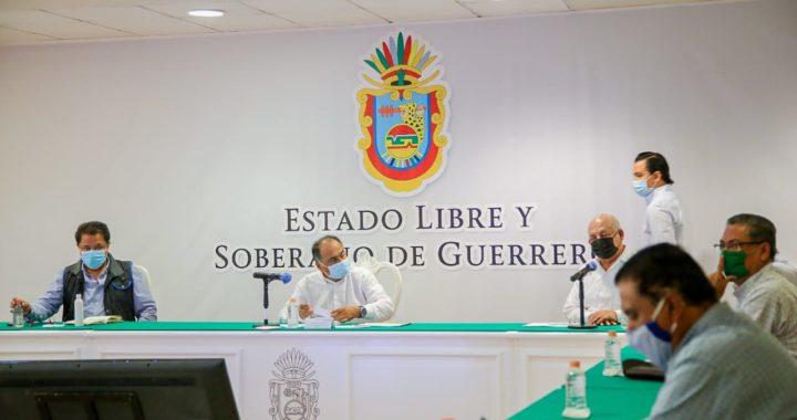 DAN SEGUIMIENTO AL PROGRAMA DE FERTILIZANTE HÉCTOR ASTUDILLO Y EL SUBSECRETARIO DE AGRICULTURA DE LA SADER, MIGUEL GARCÍA WINDER