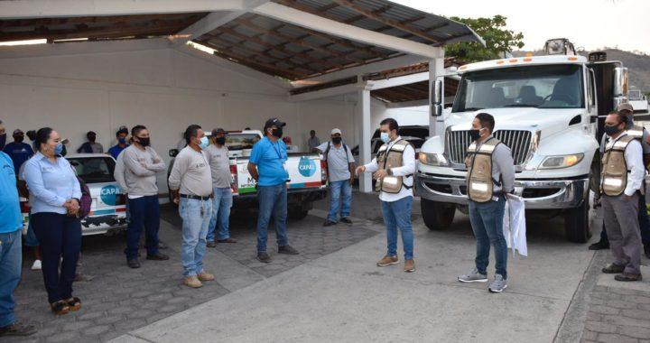Jorge Sánchez beneficiaa comunidades con programa de desazolve de fosas