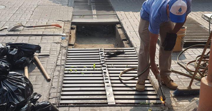 CAPAZ realiza diversos trabajos de mantenimiento previo a la temporada de lluvias.