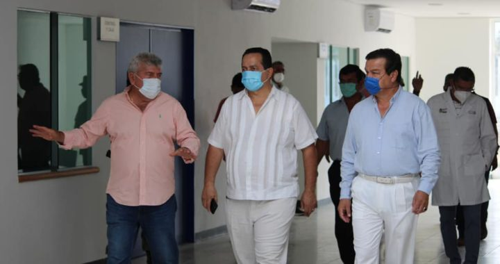SUPERVISA EL GOBIERNO MUNICPAL Y LA JURISDICCIÓN SANITARIA EL NUEVO HOSPITAL DE PETATLÁN