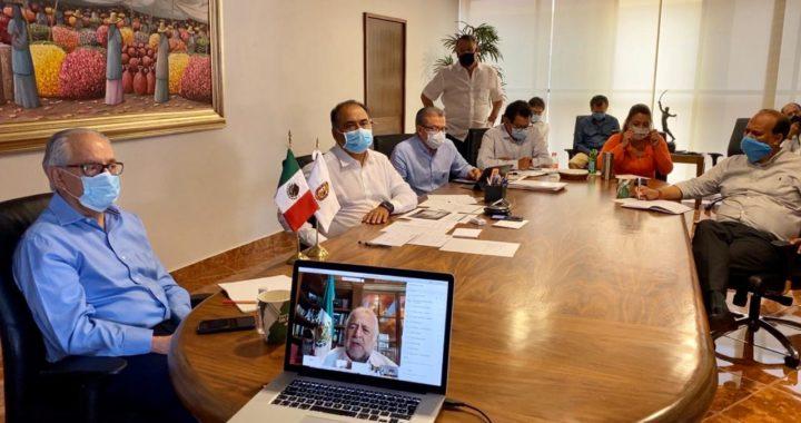 ACUERDAN LAS Y LOS GOBERNADORES Y EL GABINETE FEDERAL CREAR GRUPO ESPECIAL PARA REACTIVAR EL TURISMO A PROPUESTA DE ASTUDILLO FLORES