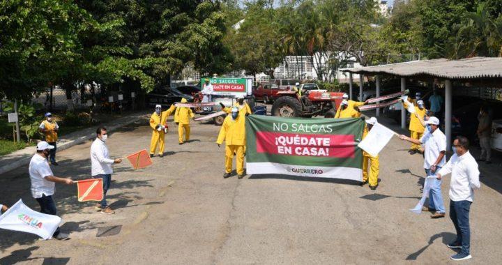 Se ponen en marcha brigadas de concientización y sanitización en Zihuatanejo.