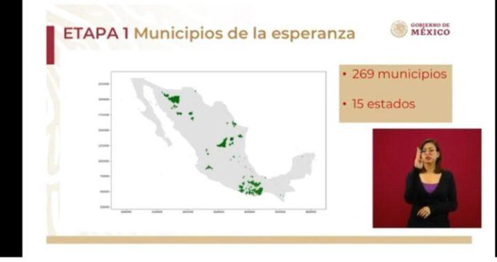 Estos son los 269 municipios que se reactivarán el próximo lunes