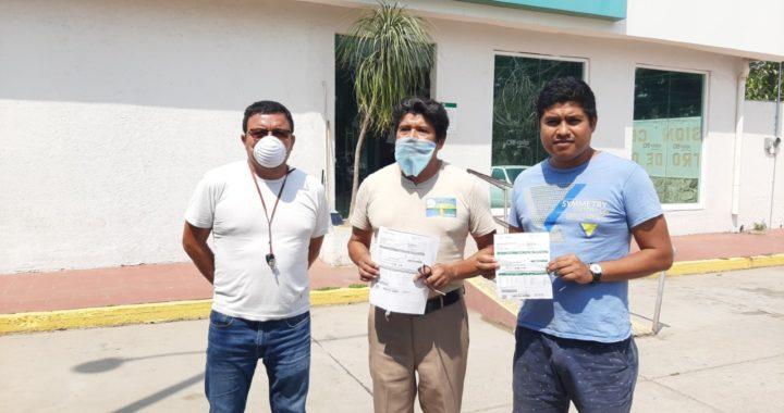 Protestan usuarios en oficinas de la Comisión Federal de Electricidad en Tecpan de Galeana