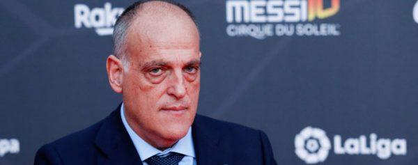 Javier Tebas quiere reanudar LaLiga el 12 de junio