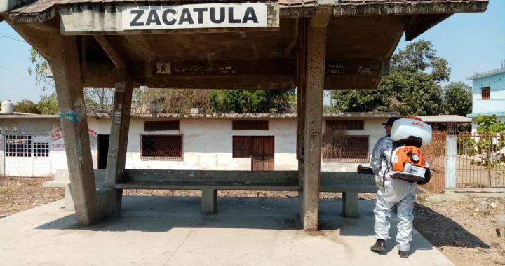 Presidente Crescencio Reyes pone en marcha brigada de concientización para prevenir la propagación de Coronavirus en La Unión
