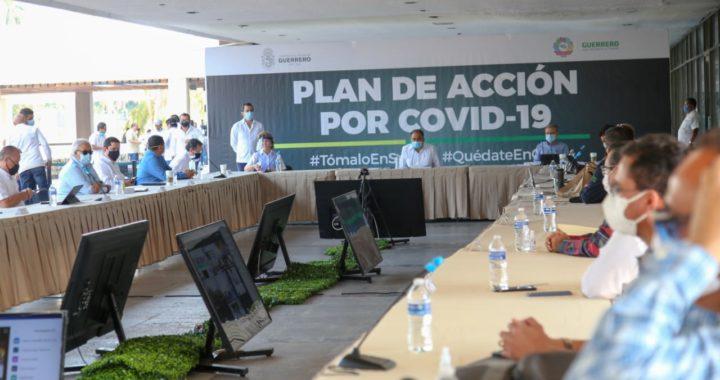 SE REÚNE HAF CON LAS Y LOS ALCALDES Y JEFES DE JURISDICCIONES SANITARIAS PARA EVALUAR PLAN DE ACCIÓN POR COVID-19
