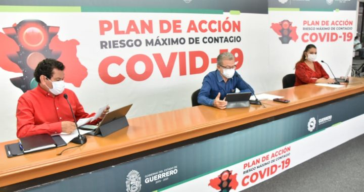 CONTINÚA GUERRERO PREPARÁNDOSE PARA PASAR AL SEMÁFORO NARANJA