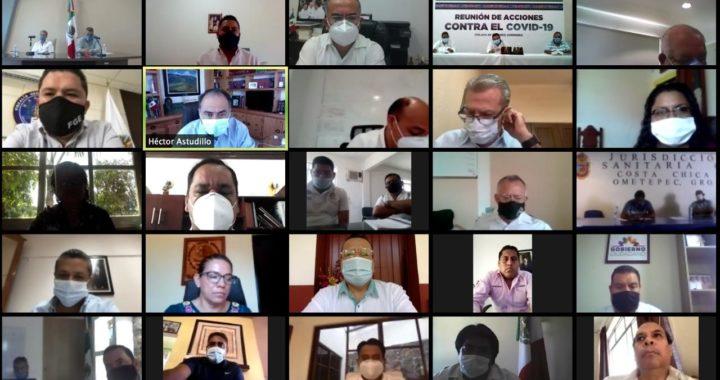 MANTIENE COMUNICACIÓN PERMANENTE EL GOBERNADOR CON LAS Y LOS ALCALDES