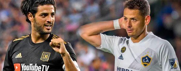 Vela y Chicharito se enfrentarán en el torneo de la MLS