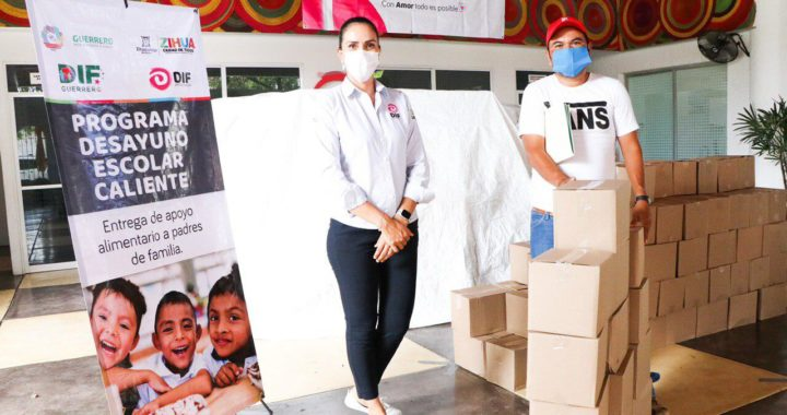 DIF Zihuatanejo aumenta escuelas beneficiadas con desayunos calientes