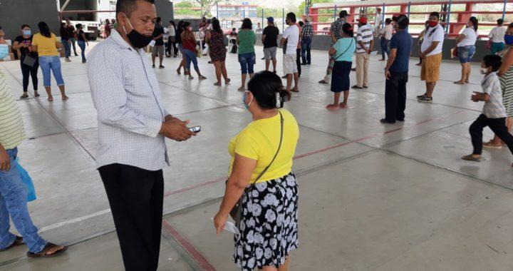 Apoya gobierno federal con despensas alimenticias a familias de prestadores de servicios turísticos del municipio de Tecpan
