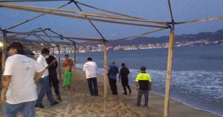 En otro operativo de prevención contra el COVID-19, dispersan a 231 personas en Acapulco
