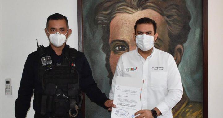 Nombran a nuevo director de seguridad pública de Zihuatanejo