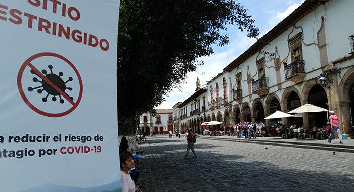 Pátzcuaro pasa de bandera verde a amarilla; aun así se reabrirán servicios a turistas