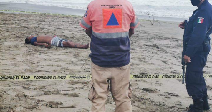 Ola mortal en la Majahua; Dos pescadores arrastrados, uno muere y el otro resulta herido