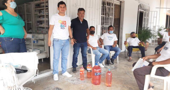Reciben apoyos en combustible taxistas del municipio de Benito Juárez