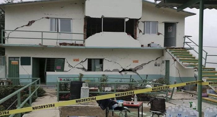 Mueren 5 personas tras sismo en Oaxaca; hay más de 30 heridos y daños en edificios
