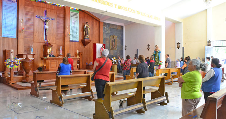 Reabren templos entre medidas sanitarias; piden que población vulnerable o con resfriado se abstenga de asistir