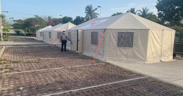 GUERRERO RECIBIÓ UNA IMPORTANTE DONACIÓN DE MATERIAL Y CAMAS POR PARTE DEL INSABI Y CRUZ ROJA MEXICANA
