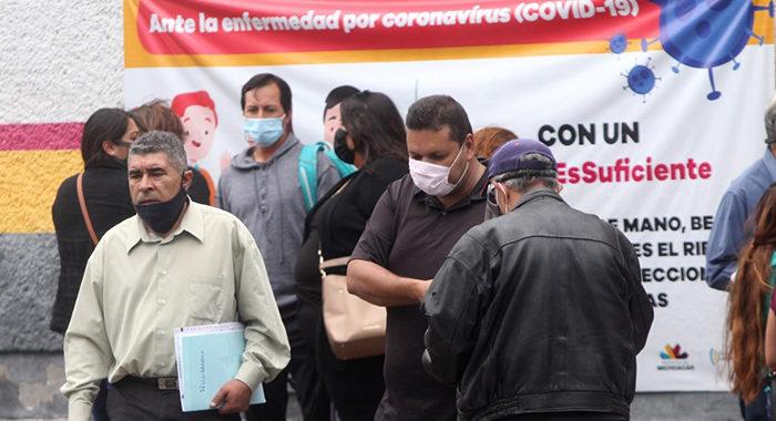 Por alta tasa de contagios, es Morelia donde más se debe combatir al COVID-19: Secretaría de Salud