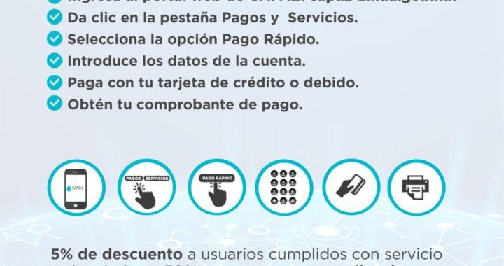 CAPAZ apertura pago en línea