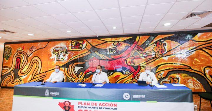 Este jueves reinician algunas actividades en Guerrero a un 30% de su capacidad