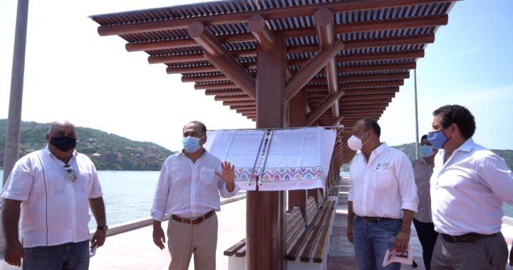 Presidente Jorge Sánchez agradece a gobernador HAF apoyo para Zihuatanejo