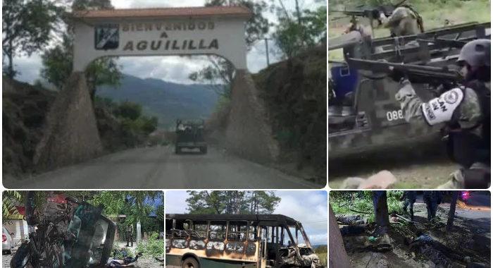 Guerra entre cárteles desplaza a familias enteras en El Aguaje; dejan todo para salvar la vida