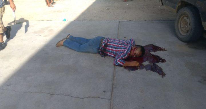 Matan a balazos un hombre en Coyuca de Benítez