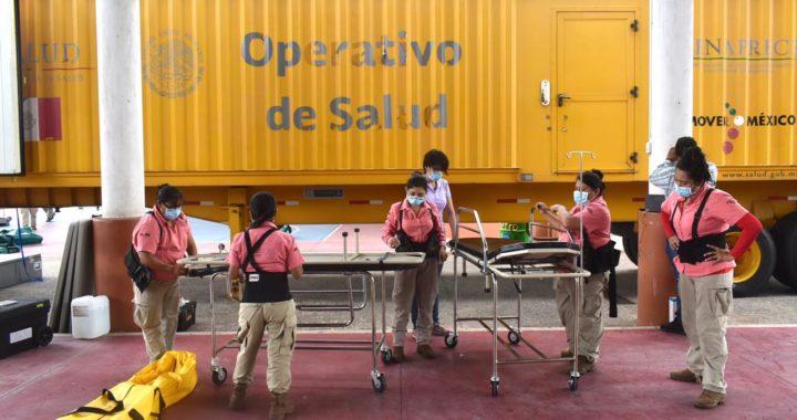Recibe Hospital General Equipo para reforzar apoyo a personas con Covid 19