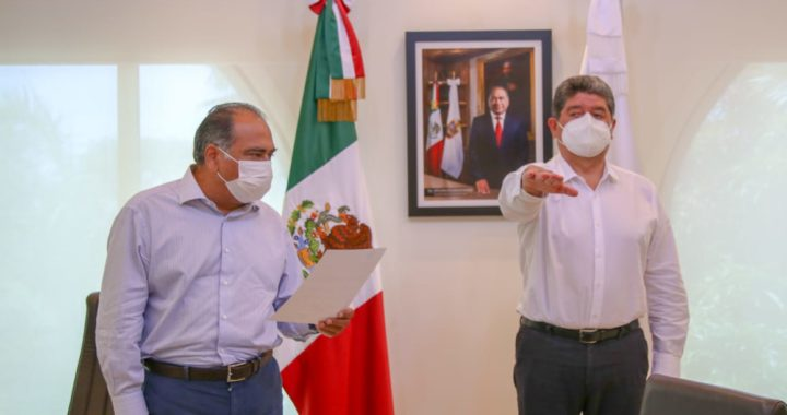 DESIGNA HÉCTOR ASTUDILLO A ELIGIO SERNA NÁJERA COMO NUEVO PRESIDENTE DEL FIDETUR ACAPULCO