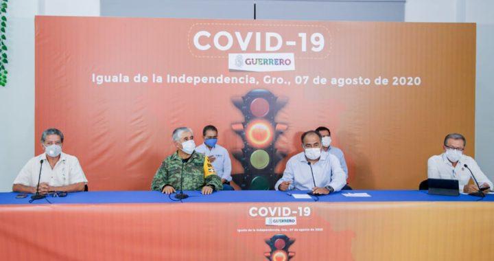 EN IGUALA Y TAXCO SE HAN LOGRADO CONTENER LOS CONTAGIOS Y DEFUNCIONES POR COVID-19