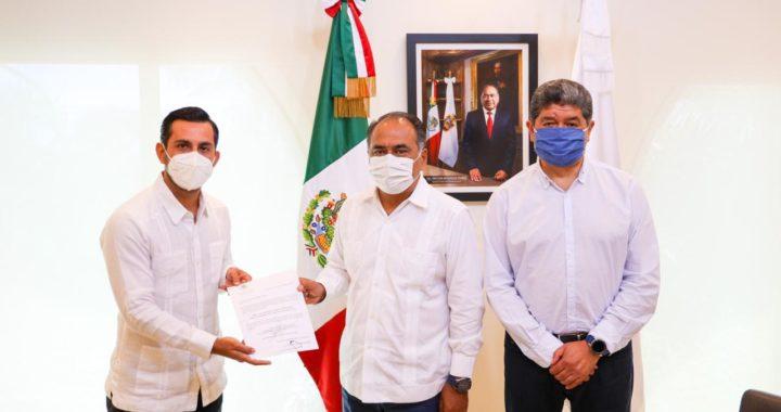 NOMBRA EL GOBERNADOR HÉCTOR ASTUDILLO AL NUEVO DIRECTOR OPERATIVO DE FIDETUR ACAPULCO
