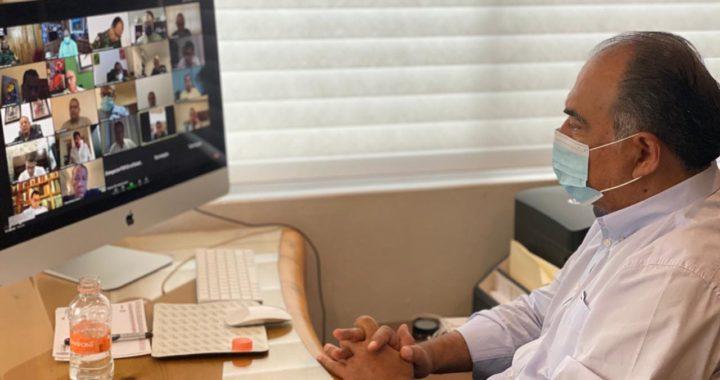 COMPARTE GOBERNADOR ASTUDILLO CON LOS INTEGRANTES DE LA MESA ESTATAL PARA LA CONSTRUCCIÓN DE LA PAZ RECONOCIMIENTO DEL PRESIDENTE LÓPEZ OBRADOR POR BAJA INCIDENCIA DELICTIVA EN GUERRERO