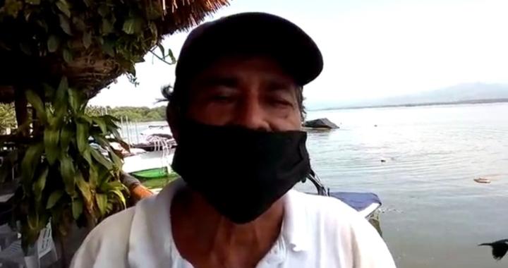 Se quejan por mala economía en negocios y actividades náuticas en playa de Pie de la Cuesta