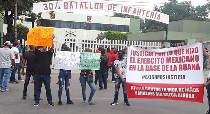 Pistoleros y soldados se enfrentan en Buenavista y se desata una «narcoprotesta»