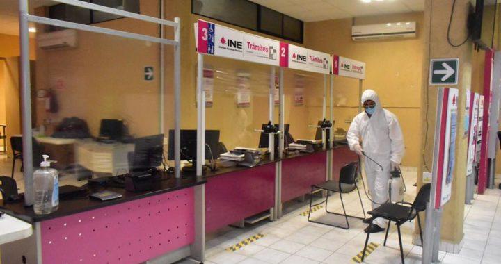 Gobierno municipal continua con las brigadas de sanitización en diferentes lugares de Zihuatanejo