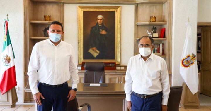 ACUERDA GOBERNADOR CON REPRESENTANTES SINDICALES AUMENTO SALARIAL PARA TRABAJADORES AGREMIADOS AL SUSPEG
