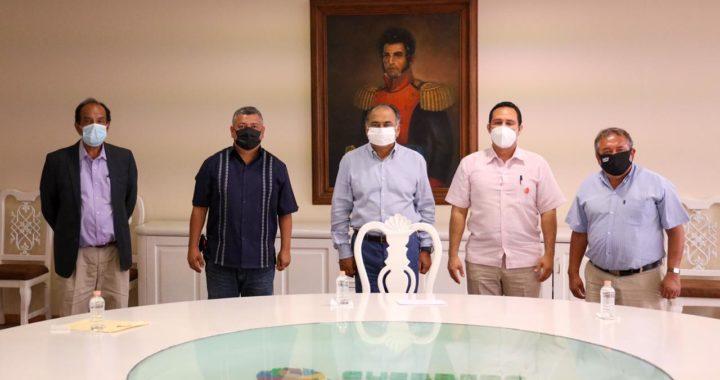 REFRENDA APOYO HÉCTOR ASTUDILLO FLORES A MINEROS DE TAXCO PARA RESOLVER CONFLICTO LABORAL