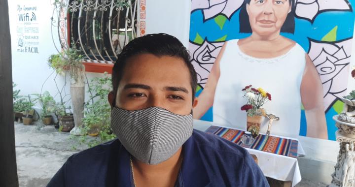 No bajar la guardia, pide secretario de Desarrollo Social de Tecpan, Juvenal Zaragoza en el tema de la pandemia