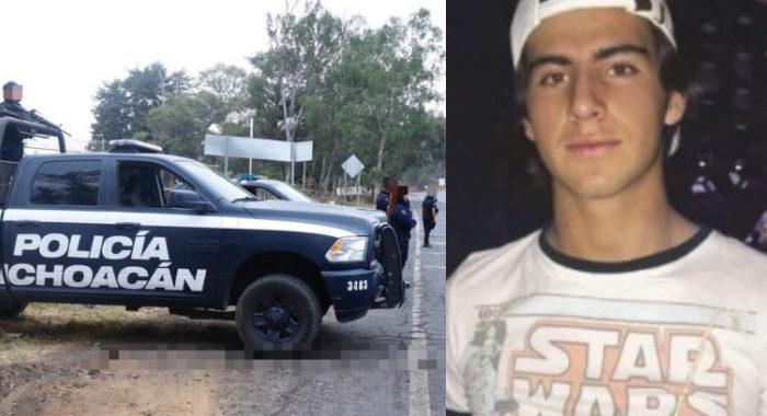 Policía Michoacán busca a Diego en todo el estado y la Interpol lo hace fuera del país por la muerte de Jessica